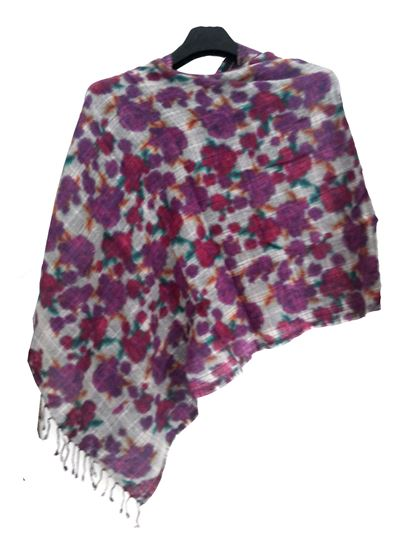 Picture of Merino Wool Reversible Scarf Multi Colour